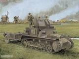 一号防空坦克及拖车