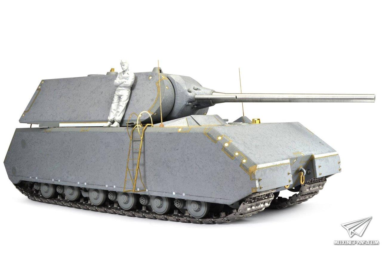 鼠式坦克高清壁纸_1/35 鼠式超重型坦克(威龙)
