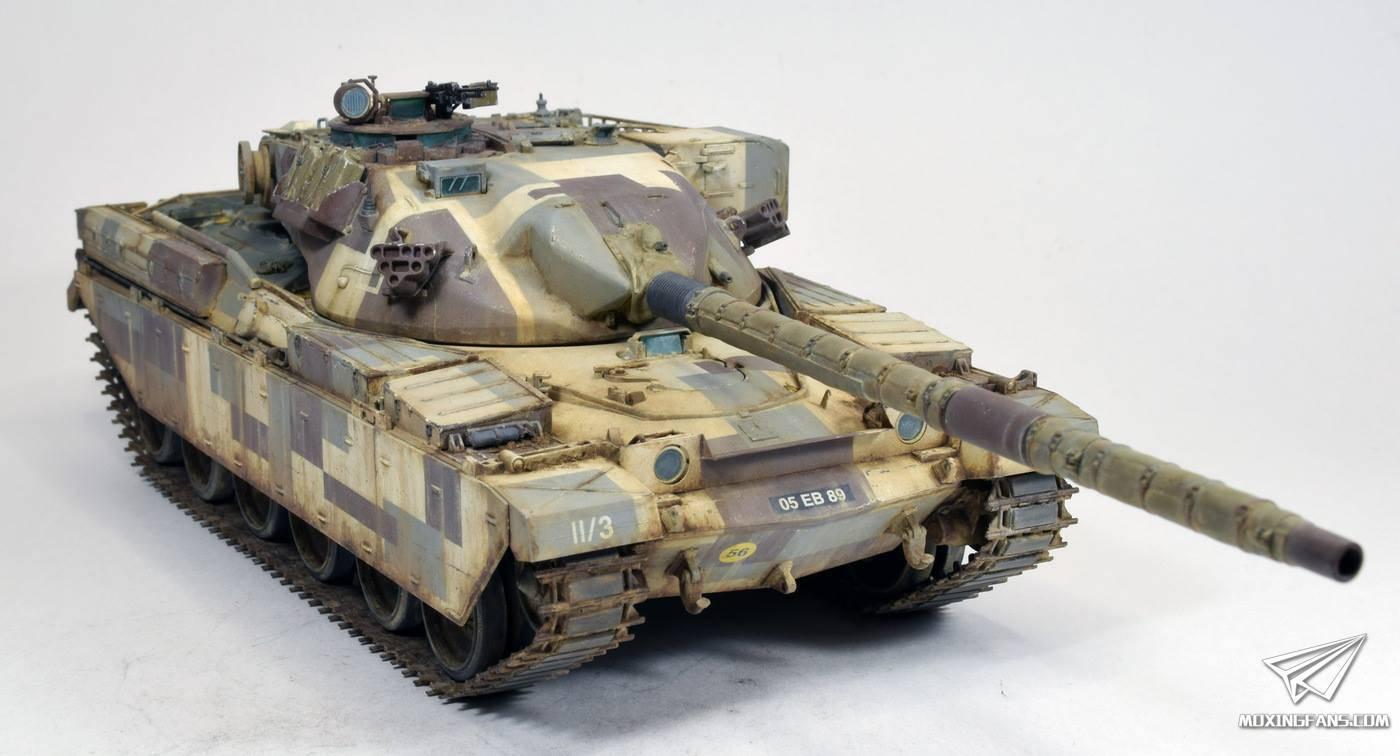 俄罗斯网站_1/35 酋长主战坦克MK2_静态模型爱好者--致力于打造最全的模型评测 ...