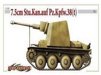 38(t) 75毫米突击炮型