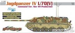 【威龙 6623】1/35 德国四号坦克歼击车L/70(V)指挥型