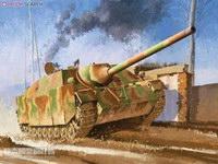 【威龙 6589】1/35 德国四号坦克歼击车L/70(V)防磁装甲