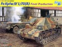 【威龙 6784】1/35 德国四号坦克歼击车L/70(A)最后期