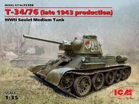 T-34/76 1943年后期生产型