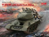 T-34/85及搭乘士兵