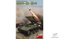 BM-8-24自行火箭发射车