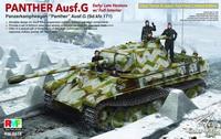 豹式坦克G初期/后期型