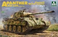 豹式坦克A中期-后期型附带防磁装甲