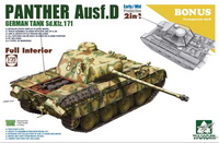 豹式坦克D初期/中期型2in1