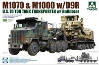 M1070拖车及D9推土机